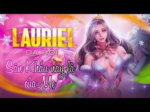 LIÊN QUÂN | Trải nghiệm Skin mới Lauriel - Hoa Khôi Dạ Hội đẹp xuất sắc cùng FUNNY GAMING TV