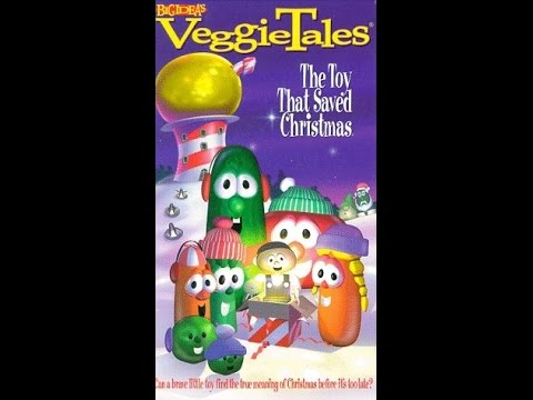 opening to veggie tales the toy that saved christmas 1999 - The Toy That Saved Christmas