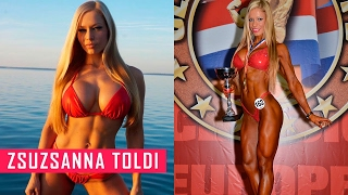 Zsuzsanna Toldi IFBB PRO Bodybuilding Training | Fitness Babes | Diamond92