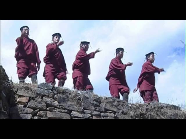 Yaryar Rigu Bhutanese Music Video Traditional Song & Dance