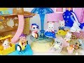 Baby doll rabbit and LOL Surprise Dolls Slide Playground toys play 아기인형 토끼와 LOL 서프라이즈 인형 놀이터 장난감-토이몽