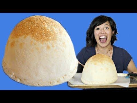 PIZZA BALLOON RECIPE Make & Taste - inflatable pizza?