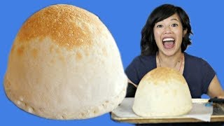 PIZZA BALLOON RECIPE Make & Taste - inflatable pizza?