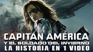 Capitán America y el Soldado del Invierno: La Historia en 1 Video