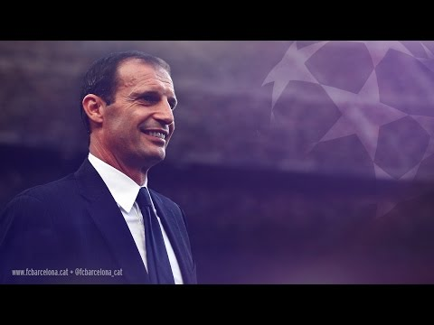 FC Barcelona vs Massimiliano Allegri