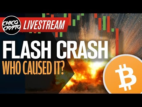 Bitcoin Flash CRASH!! What Happened? Who Did This? WHY!!!!😭