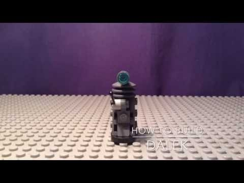 Lego Doctor Who how to build 3:Dalek