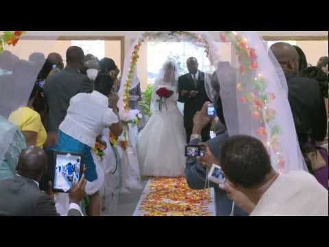 Walk Down the Aisle - A African Wedding Video Photo Services Toronto GTA