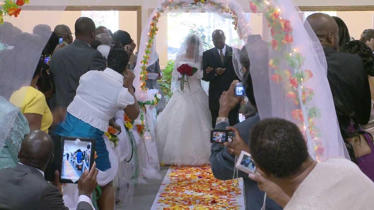 Walk Down the Aisle  A African Wedding Video Photo