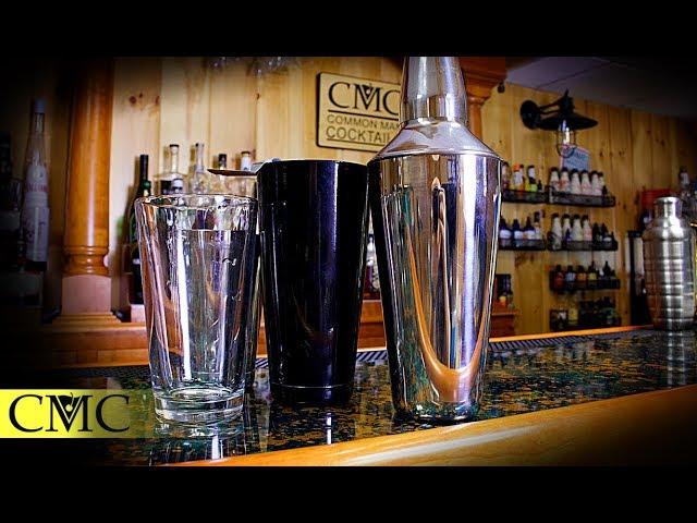 Cobbler Shaker vs. Boston Shaker - The Pros and The Cons   Bartending 101