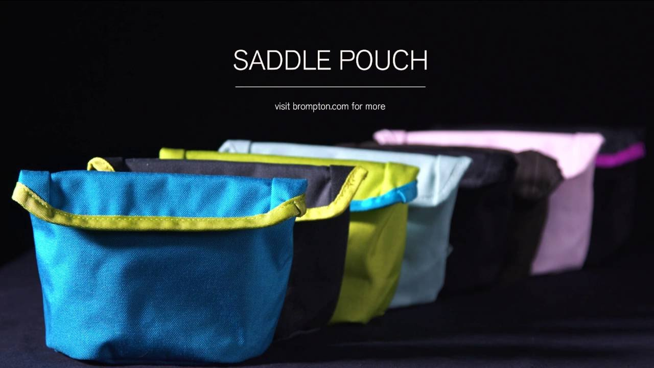 Selle Brompton Sac Pochette en WAXED CANVAS-E-Bay de livraison internationale disponible