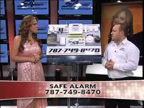 dando candela con safe alarm security (alarma en puerto rico)