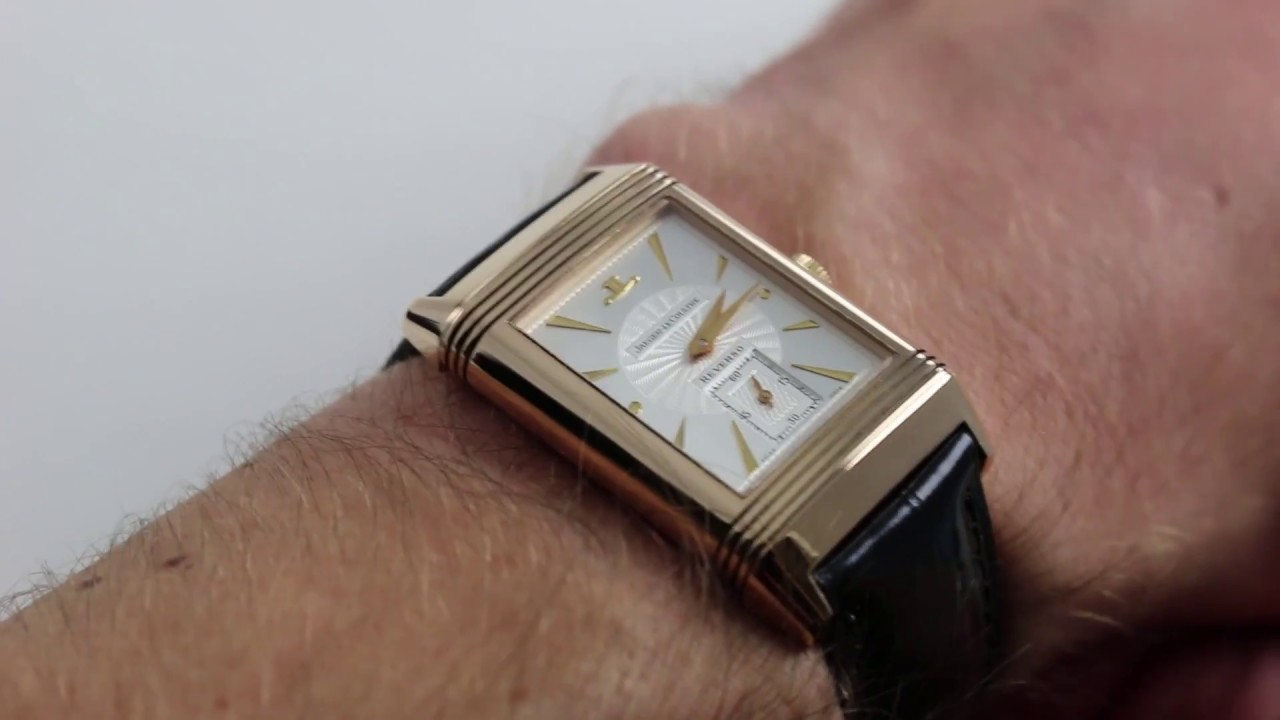 1cab1fa68fff4 Pre-Owned Jaeger-LeCoultre Reverso Art Deco Luxury Watch Review ...
