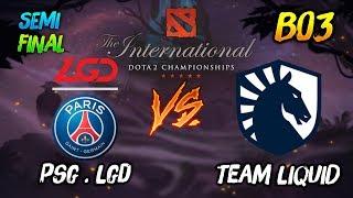 PSG.LGD vs Team Liquid (Semi-Final) ► The International Dota2 2019 Main Event (TI9) 😎 | dota 2