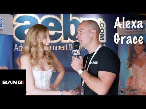 Alexa Grace wins the awkward handshake award