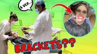 INDY NECESITA BRACKETS 😬 ME VOY A MADRID AL DENTISTA ¿ BRACKETS  O INVISALING ? / El mundo de Indy