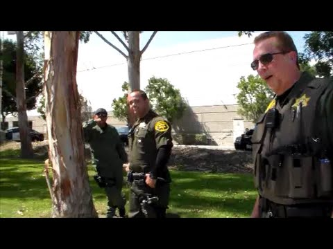 First Amendment Test Orange County Sheriff RECORDS RECEIVED AND AUDIO
