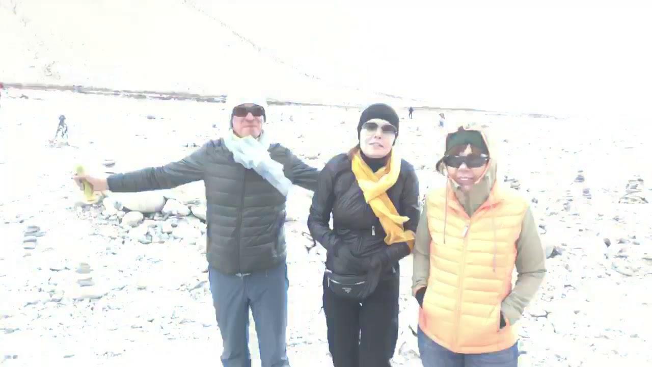 """ТИБЕТ: """"Звёздный десант"""" прямо возле самой высочайшей в мире горы, Эверест басовый лагерь.."""