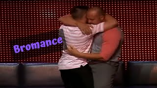 Two hypnotized guys try to fight each other on stage in Las Vegas!