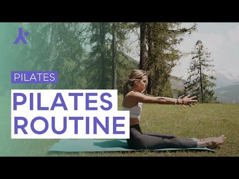 Pilates Routine ♥  Principianti
