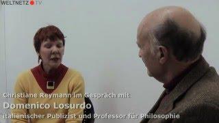 im Gespräch mit Domenico Losurdo - über Friedensbewegung, Imperialismus und die aktuellen Kriege