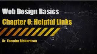 Web Design Basics: Helpful Links