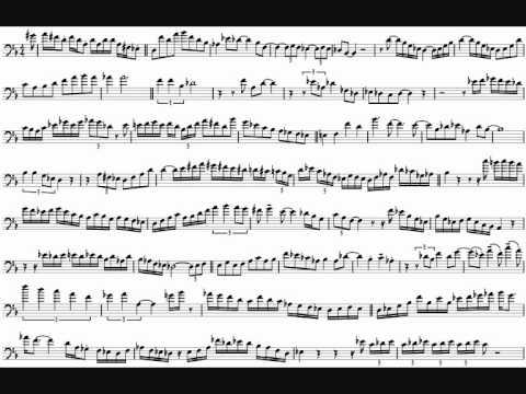Bob McChesney 'Here's That Rainy Day' Trombone Solo Transcription