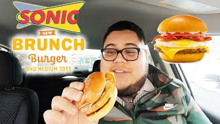 Does Sonic's new Brunch Burger have enough breakfast between the bun?