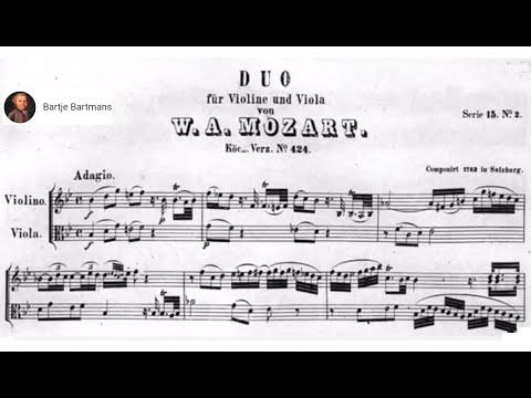 Mozart - Duo for Violin and Viola No. 2,...