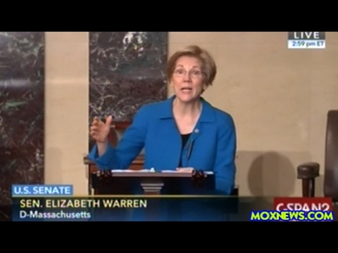 Senator Elizabeth Warren Explains Why The White House Budget Director Nominee Is Unacceptable!