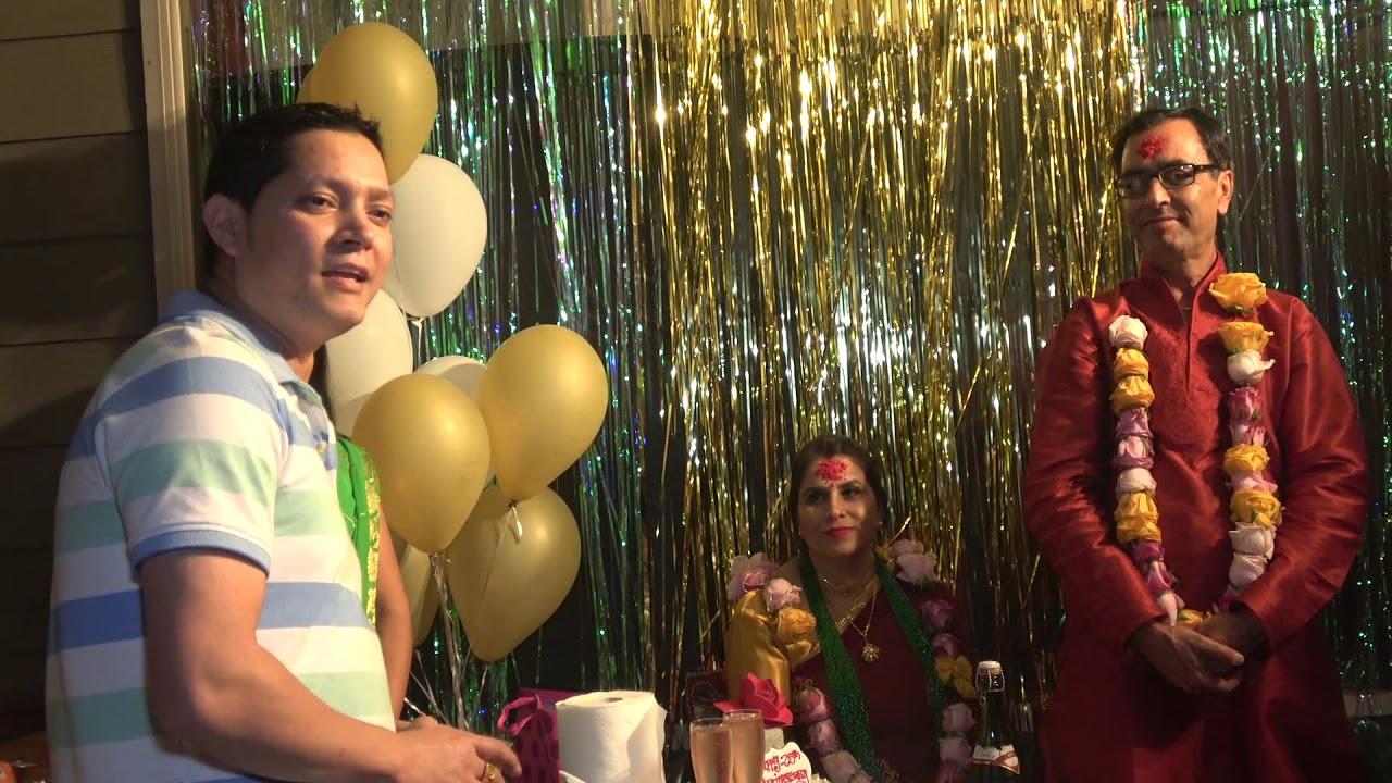 Marriage anniversary binod thapa nepali wedding anniversary