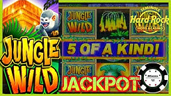 ⭐️HIGH LIMIT JUNGLE WILD JACKPOT HANDPAY ⭐️$25 MAX BET BONUS ROUND Slot Machine MAGIC PEARL SESSION