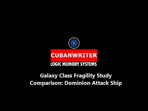 Galaxy Class Fragility Study IV - Comparison to the Dominion Attack Ship