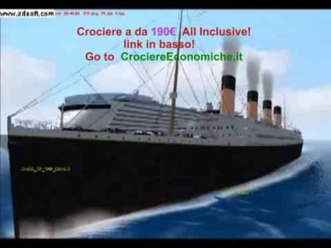 Titanic Vs Oasis Of The Seas YouTube - Titanic vs cruise ships today