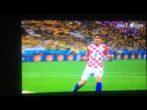 Marcelo own goal Brazil vs Croatia