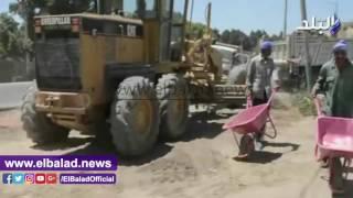 شاهد.. محافظ المنيا يتفقد أعمال المرحلة الثانية من مبادرة 'حلوة يا بلدي'