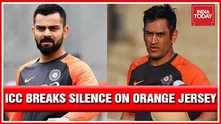 ICC Breaks Silence On Team India's Orange Jersey After Congress And SP Erupt Over Choice Of Colour
