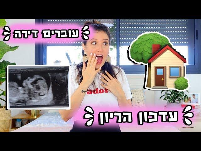 עדכון הריון - כל הצילומים מהבדיקות ואנחנו עוברים דירה!