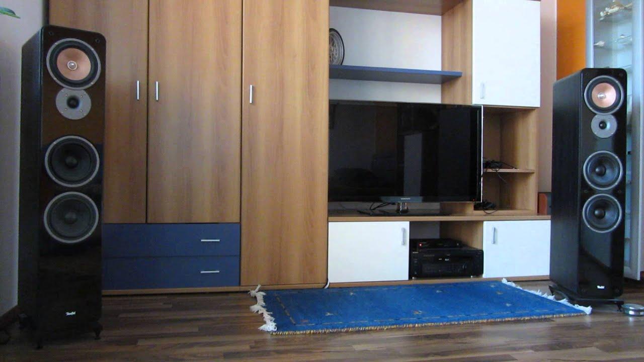 teufel ultima 40 mk ii soundtest 1 youtube. Black Bedroom Furniture Sets. Home Design Ideas