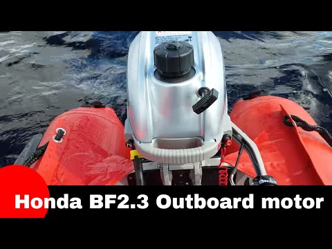 Honda BF2.3 outboard motor review