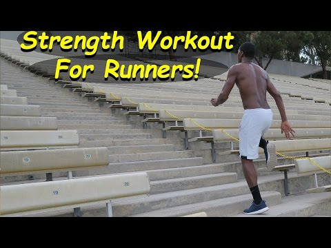 strength workout for all runners bleacher exercise  youtube