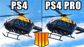 (BO4) Blackout Gameplay PS4 vs PS4 Pro Graphics Comparison - Black Ops 4 PS4 vs PlayStation 4 Pro
