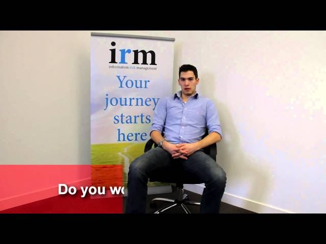 A day in the life of Daniel Cannon, security consultant at IRM