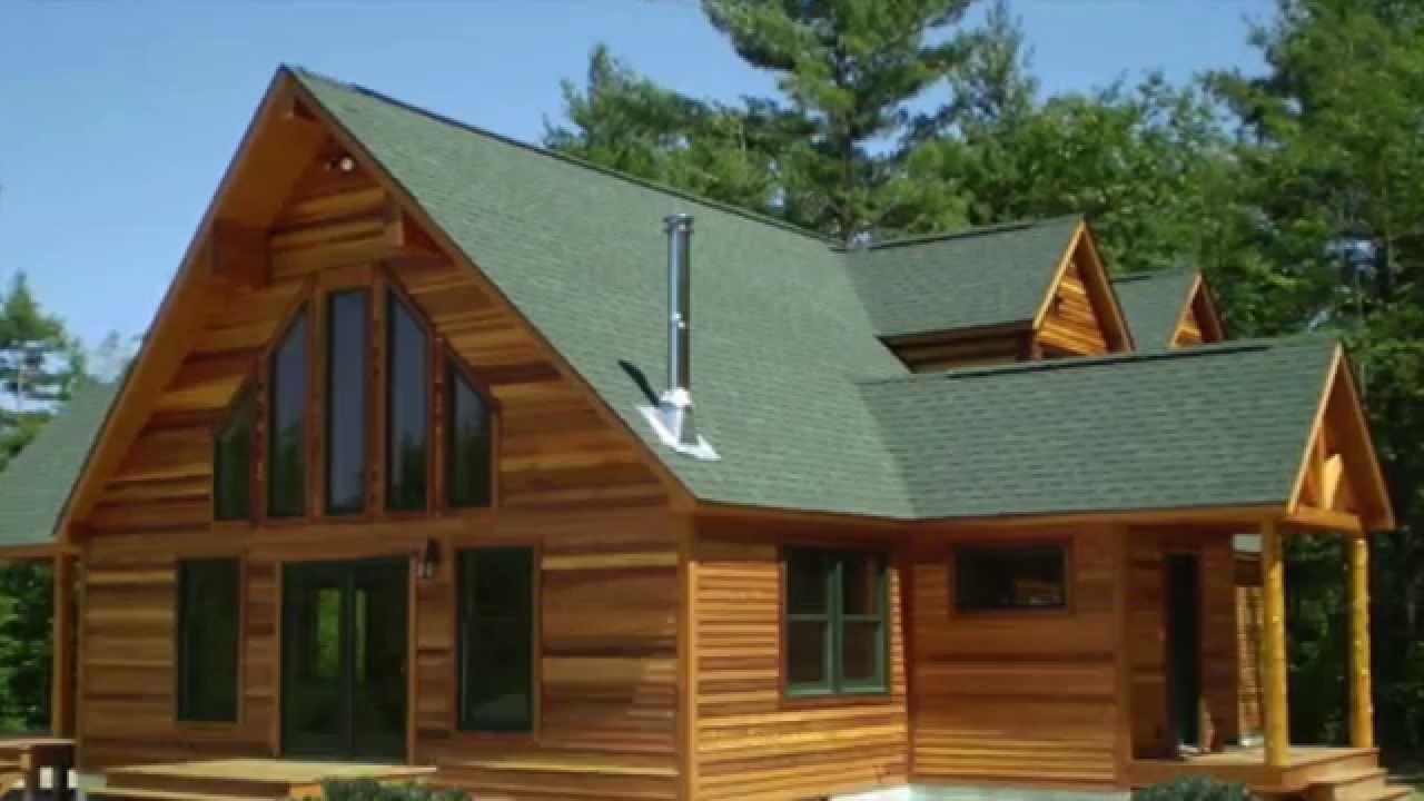 Casas prefabricadas en salamanca casas de madera youtube for Prefabricadas madera