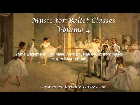 Grand Battement - Music for Ballet Classes Vol. 4 -WHOLE TRACK