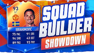 FIFA 17 SQUAD BUILDER SHOWDOWN!!! 93 RATED MOTM IBRAHIMOVIC!!