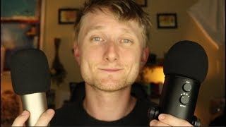ASMR Blue Yeti vs Rodes [Mic Comparison] [Sound Assortment]