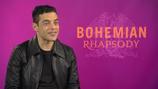 Rami Malek Interview BOHEMIAN RHAPSODY twin brother QUEEN music - MR ROBOT