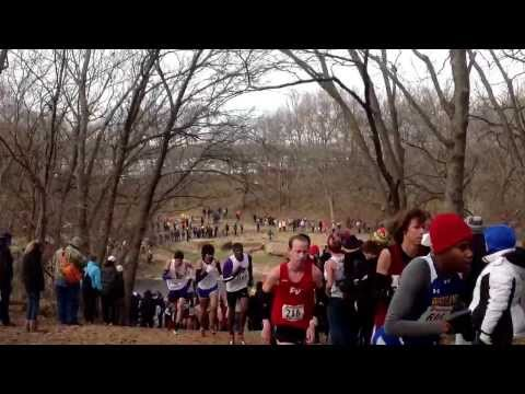 The hill at the 2013 NAIA Cross Country National Championships.