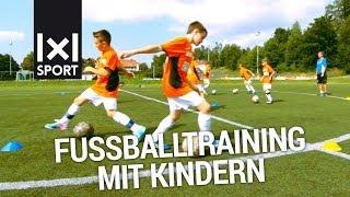 Fußballtraining für Kinder mit Ex-Bundesliga-Profi Ingo Anderbrügge [TRAILER]